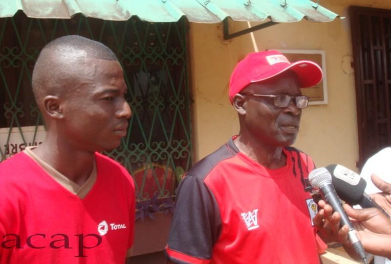 Football : L'entraîneur de l'As Tempête Mocaf confiant avant le match contre  Alnasser de Benghazi
