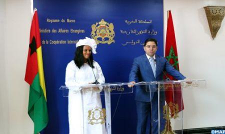 La ministre bissau-guinéenne des Affaires étrangères salue la vision du Roi Mohammed VI pour la promotion du développement humain, de la paix et de la prospérité de l'Afrique