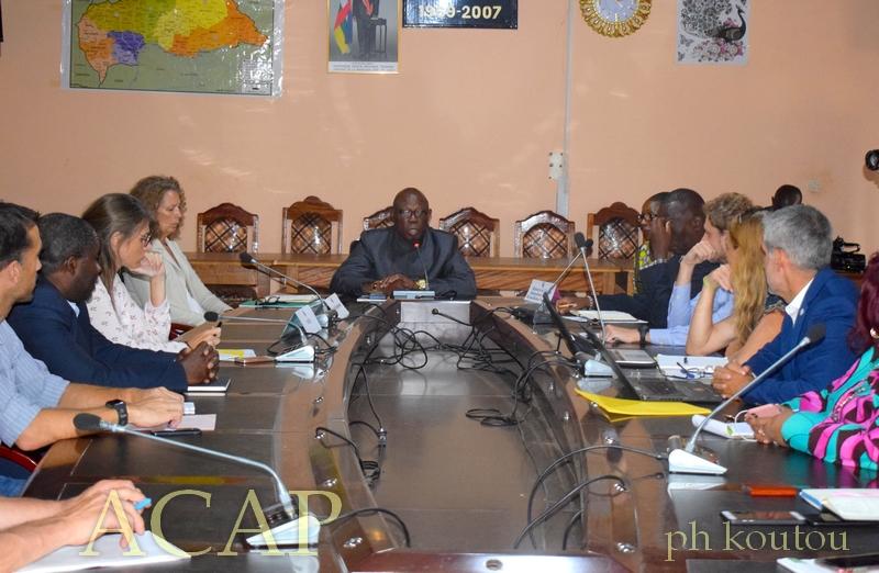 Une vue des représentants des ONG nationales et internationales