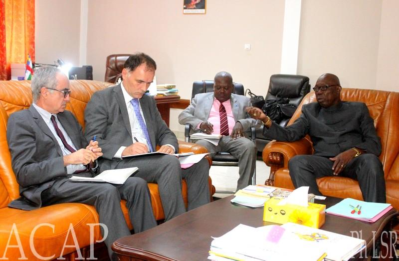Edouard Martin  annonce la discussion sur le nouveau programme du  Fonds Monétaire International en Centrafrique