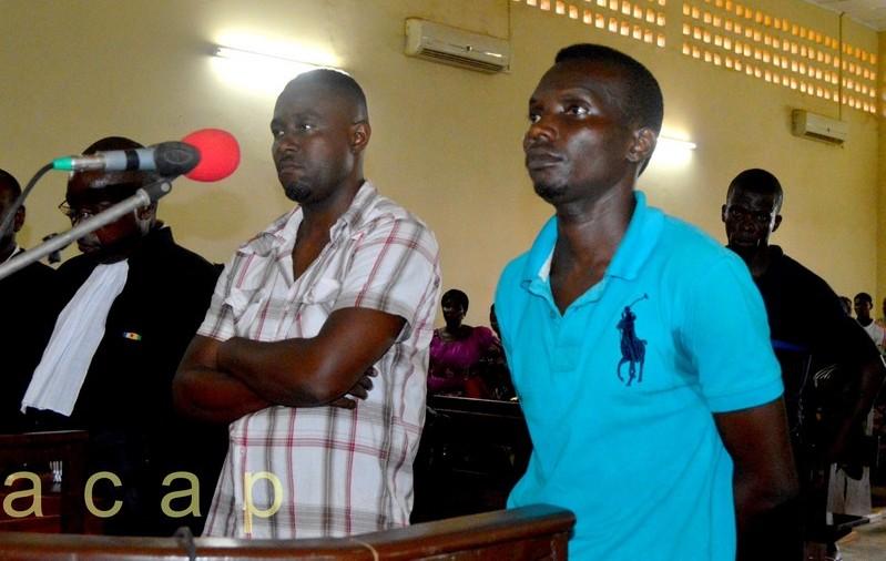 Les accusés Guy-Narcisse Koualet Perrière Demba
