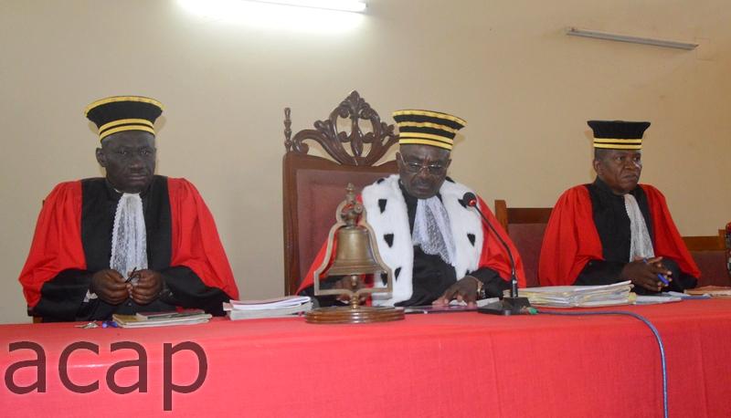 Reprise à Bangui de l'audience de la Cour criminelle