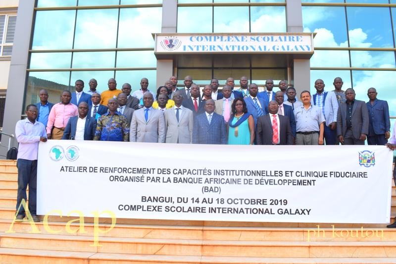 Ouverture à Bangui d'un atelier de renforcement institutionnel et clinique fiduciaire