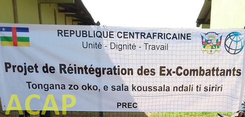 L'UEPNDDRR renforce sa présence dans la Nana-Mambéré en lançant le Projet de Réintégration socioéconomique des Ex-Combattants.