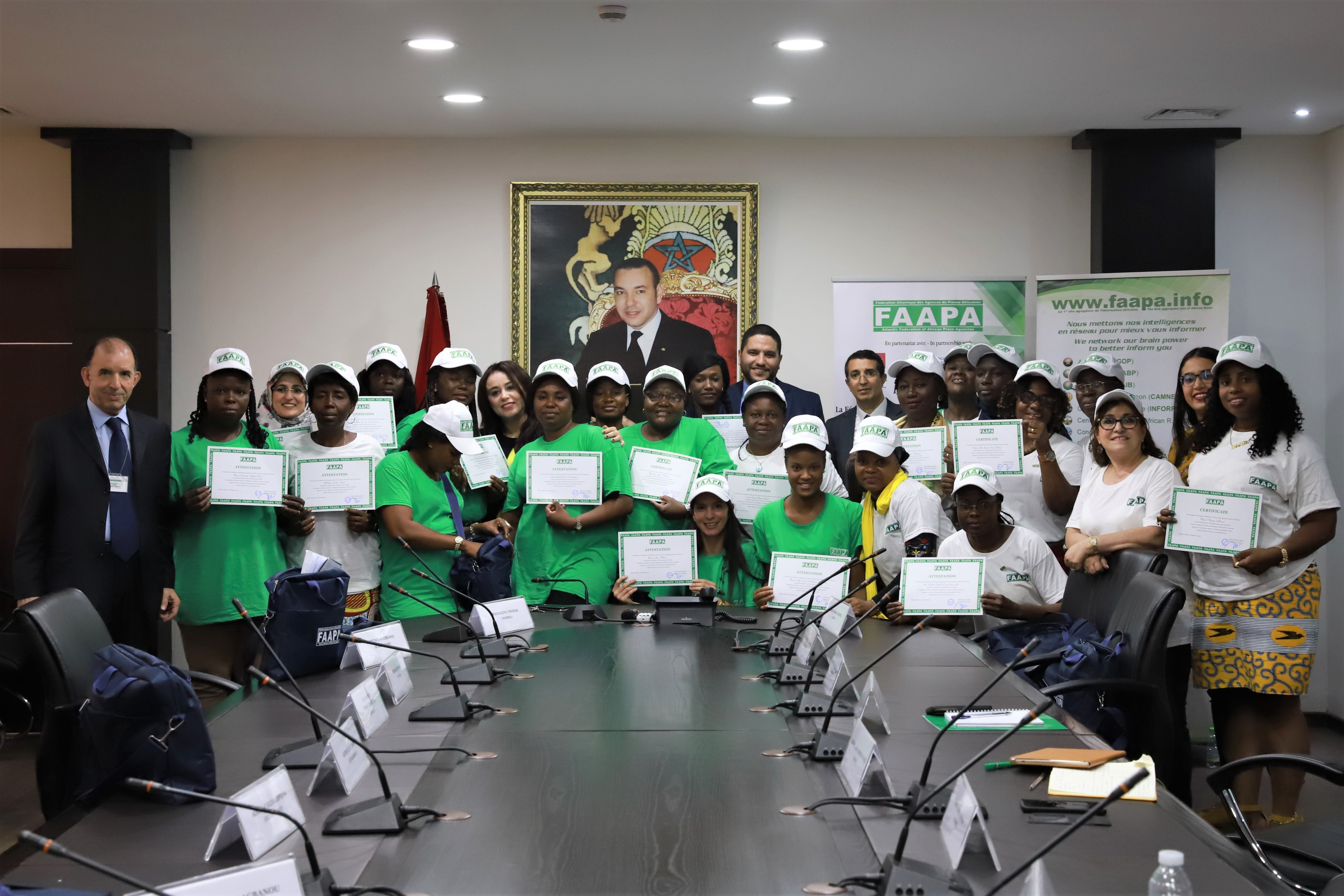 Fin à Rabat au Maroc du séminaire des femmes leaders des agences de presse africaines