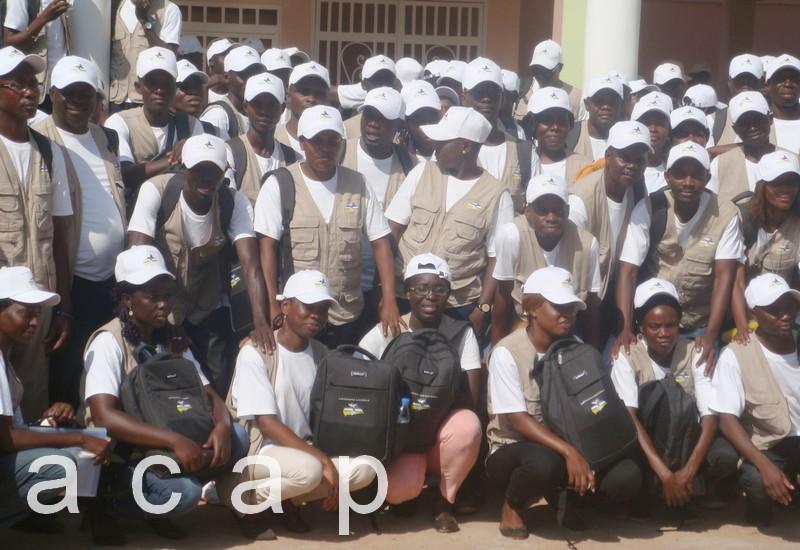 Julius-Rufin Ngouadé-Baba lance l'opération de cartographie électorale à Bangui