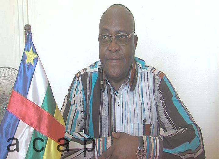 Le président de la délégation spéciale de la ville de Bangui, lance une opération de déguerpissement