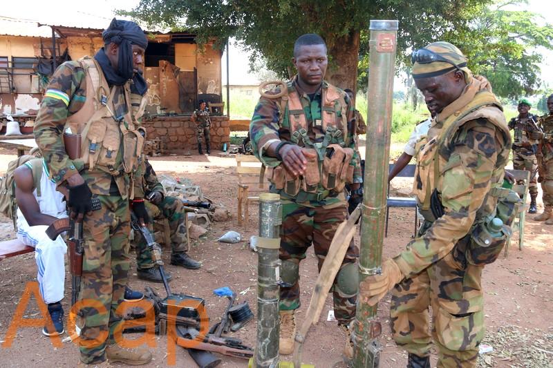 Les Forces de Défense Centrafricaine récupèrent le camp Béal