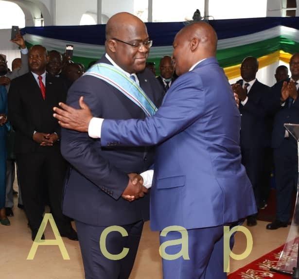 Le Président Tshisékédi-Tshilombo encourage le projet de construction d'un pont sur l'Oubangui