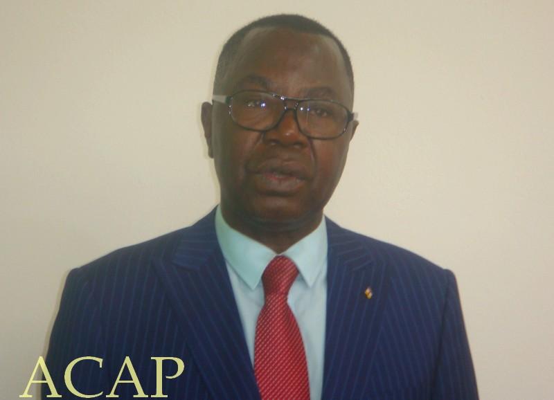 porte-parole de la Présidence Albert Yaloké-Mokpème