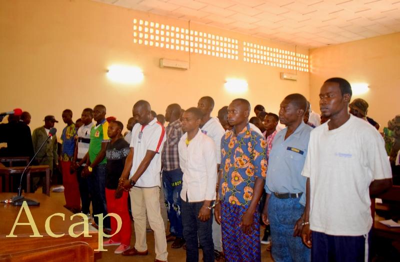 les chefs antis balaka de Bangassou condamnés de