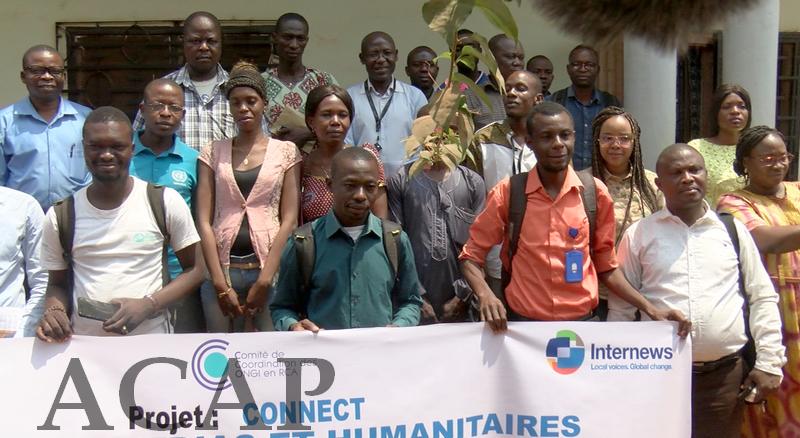 Table ronde des acteurs humanitaires sur la sécurité et les actions humanitaires en RCA