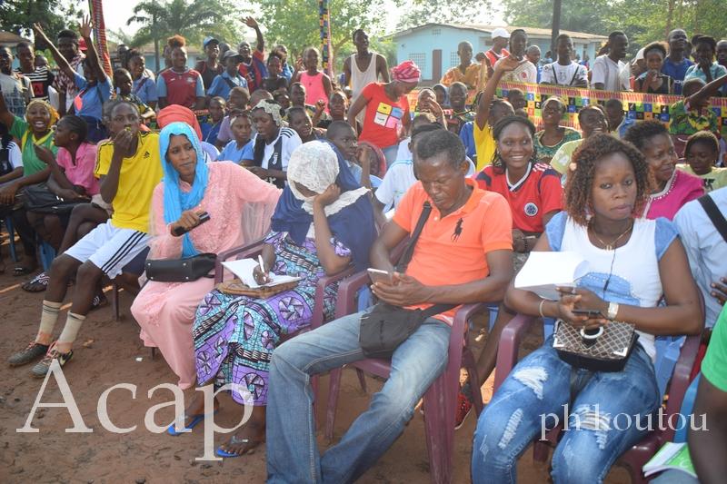 Sensibilisation des leaders des jeunes des 8 arrondissements de Bangui sur la non incitation à la haine