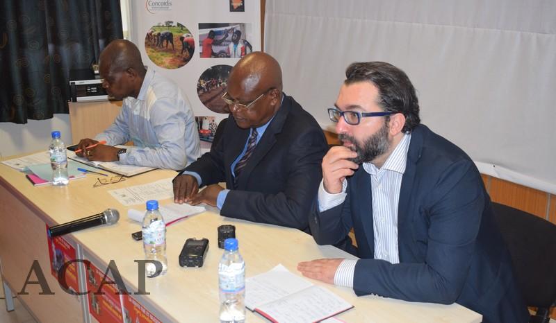 Présentation des résultats des projets financés par le Fonds Békou