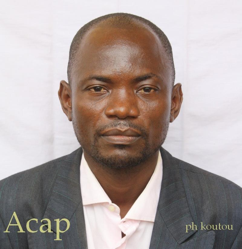 Ancien webmaster de l'ACAP Prosper Yaka-Madïdé