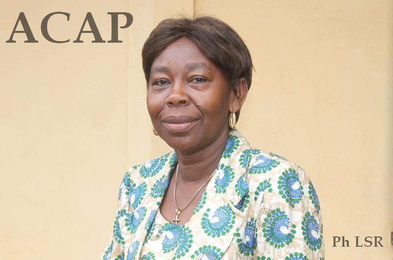 coordonnatrice de l'ONG CERCLE Rosalie Mologbama