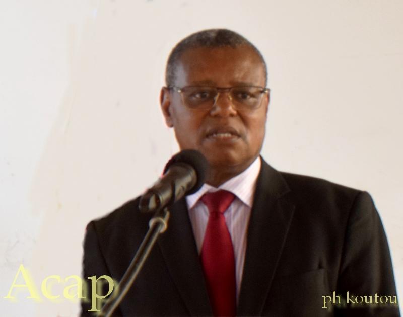 ministre de la Santé Pierre Somsé