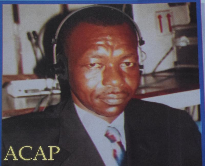 Les obsèques de Gaspard Bérang, ancien journaliste à Radio Centrafrique