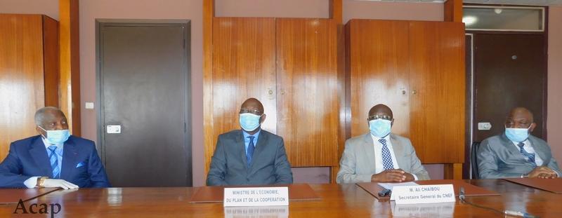 Première session ordinaire du comité national économique et financier de la République Centrafricaine