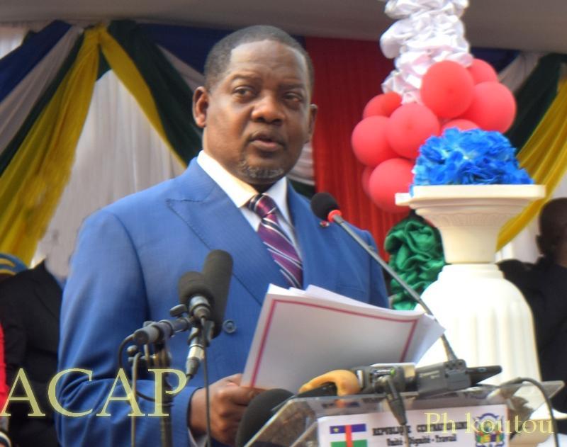 Le Premier ministre Firmin Ngrébada face aux députés de la nation sur les questions de sécurité et du COVID-19