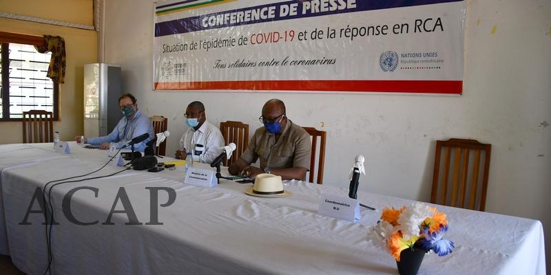 Premier cas de décès du COVID-19 enregistré en Centrafrique