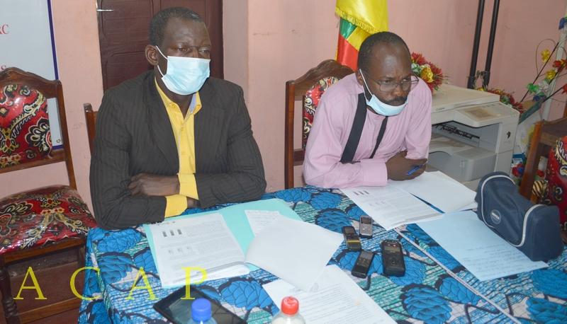 Les résultats des études réalisées par l'Institut sur l'impact du COVID-19 auprès des 600 ménages à Bangui et ses environs