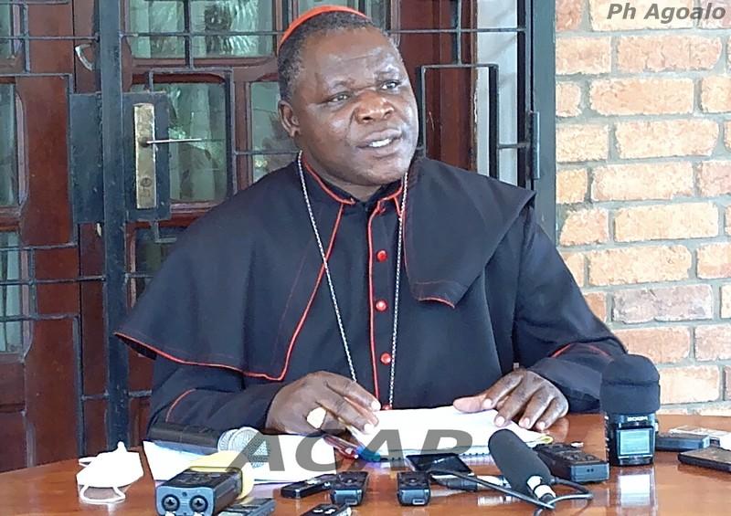 Le Cardinal Dieudonné Nzapalainga annonce la rentrée pastorale diocésaine
