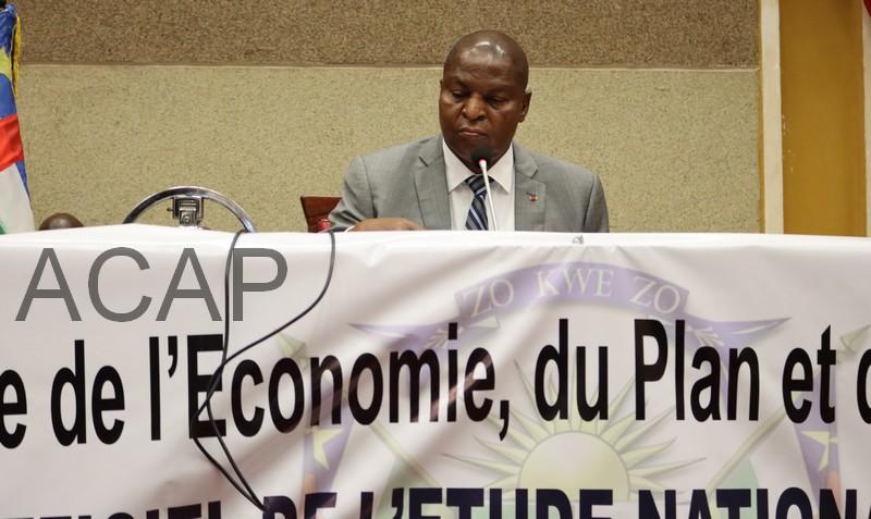 Le Président Touadéra lance le processus d'élaboration de l'Etude Nationale Prospective