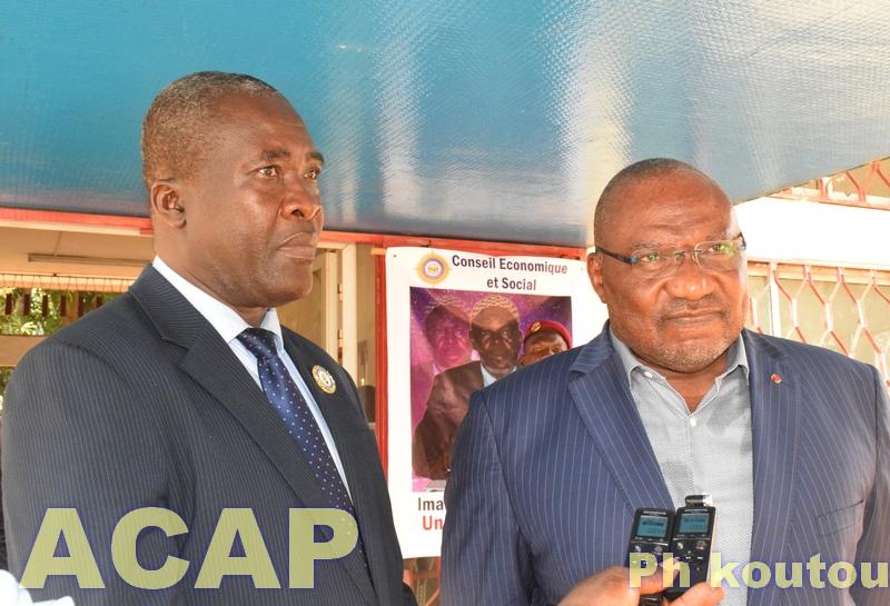 La plateforme Bé-oko édifie le Conseil Economique et Social sur la tenue d'une concertation nationale