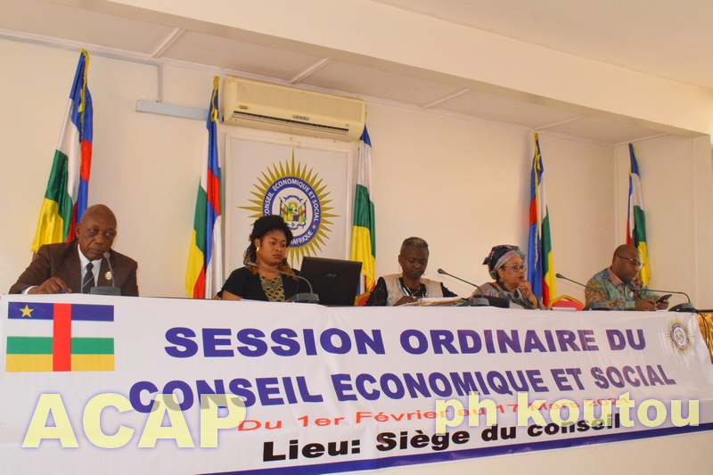 Les Présidents des institutions poursuivent leurs échanges avec le Conseil Economique et Social