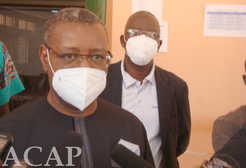 Un atelier pour la campagne de vaccination contre la COVID-19 en Centrafrique