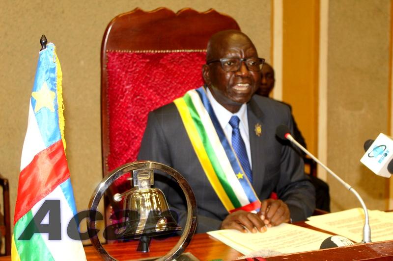 La première session ordinaire 2021 de l'Assemblée nationale s'ouvre à Bangui