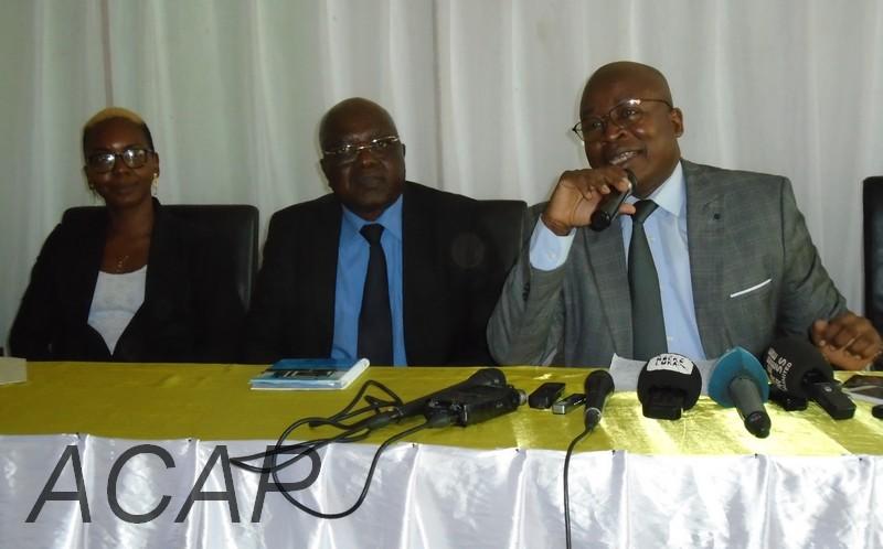 Aimé-Serge Singa-Béngba nouveau président de la  fédération centrafricaine de basketball