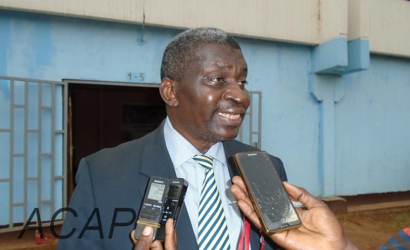 L'ancien président de la fédération centrafricaine de basketball  conteste le nouveau bureau fédéral mis en place