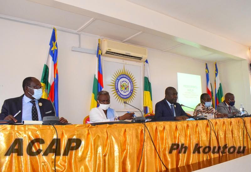 Présentation du programme d'appui à la promotion de l'entrepreunariat en milieu urbain et rural aux Conseillers économiques et sociaux