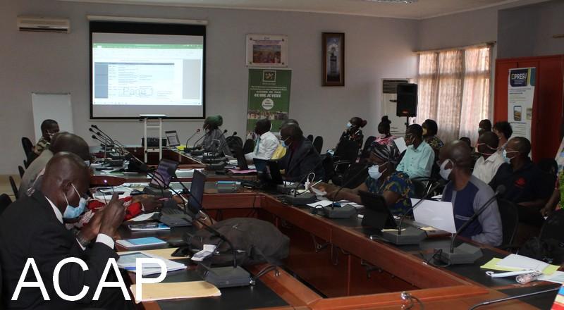 Les experts sectoriels en formation sur la plateforme Kobotoolbox