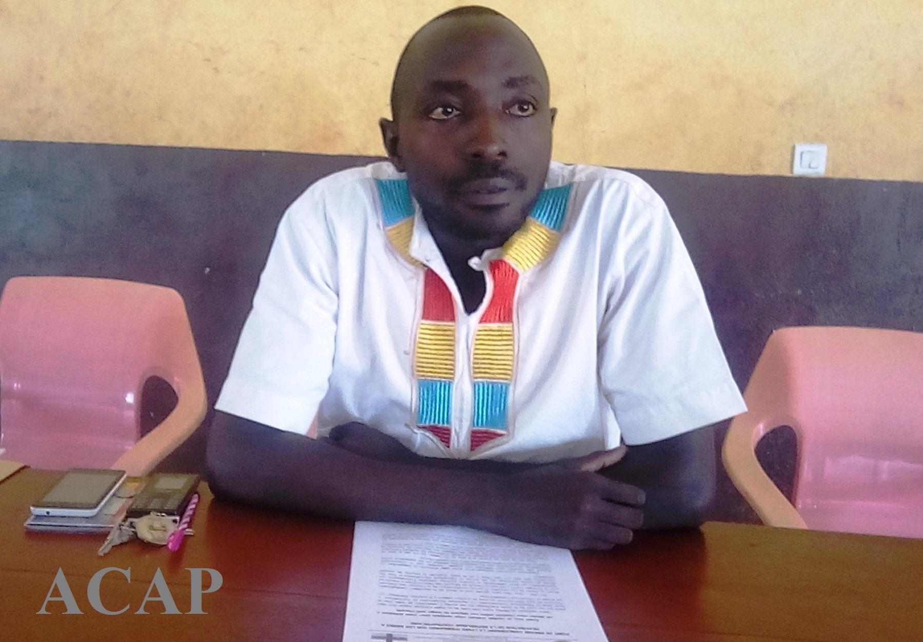 L'Association Jeunesse Panafricaine de Centrafrique demande la levée de l'embargo contre la RCA