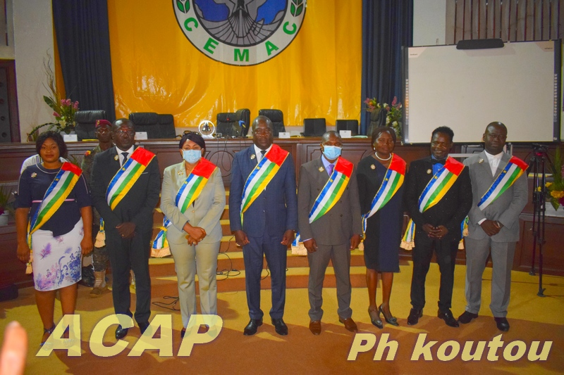 Ouverture à Bangui de la 2ème session ordinaire du Conseil Economique et Sociale de l'année 2021