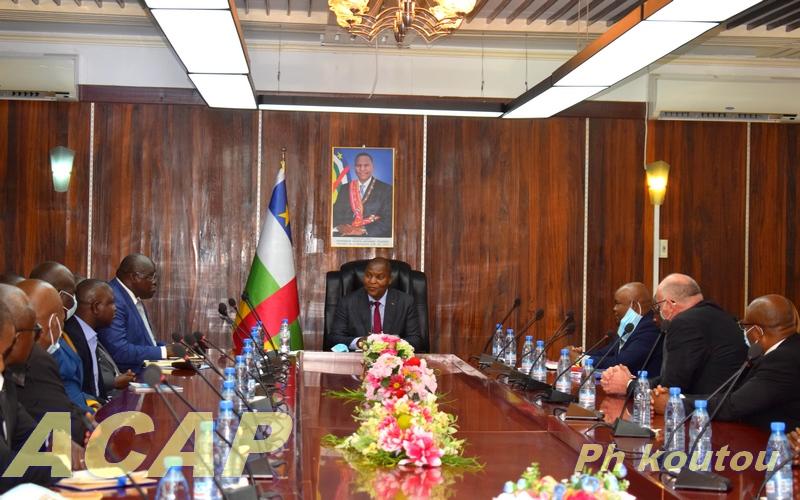 Tête- à tête entre le Président de la République et les Présidents de la Cour pénale spécial