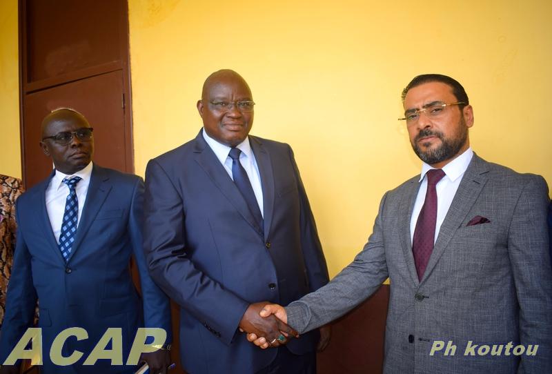 Le ministre d'Etat chargé de la Justice s'entretient avec le nouveau Chargé d'Affaires de la Libye