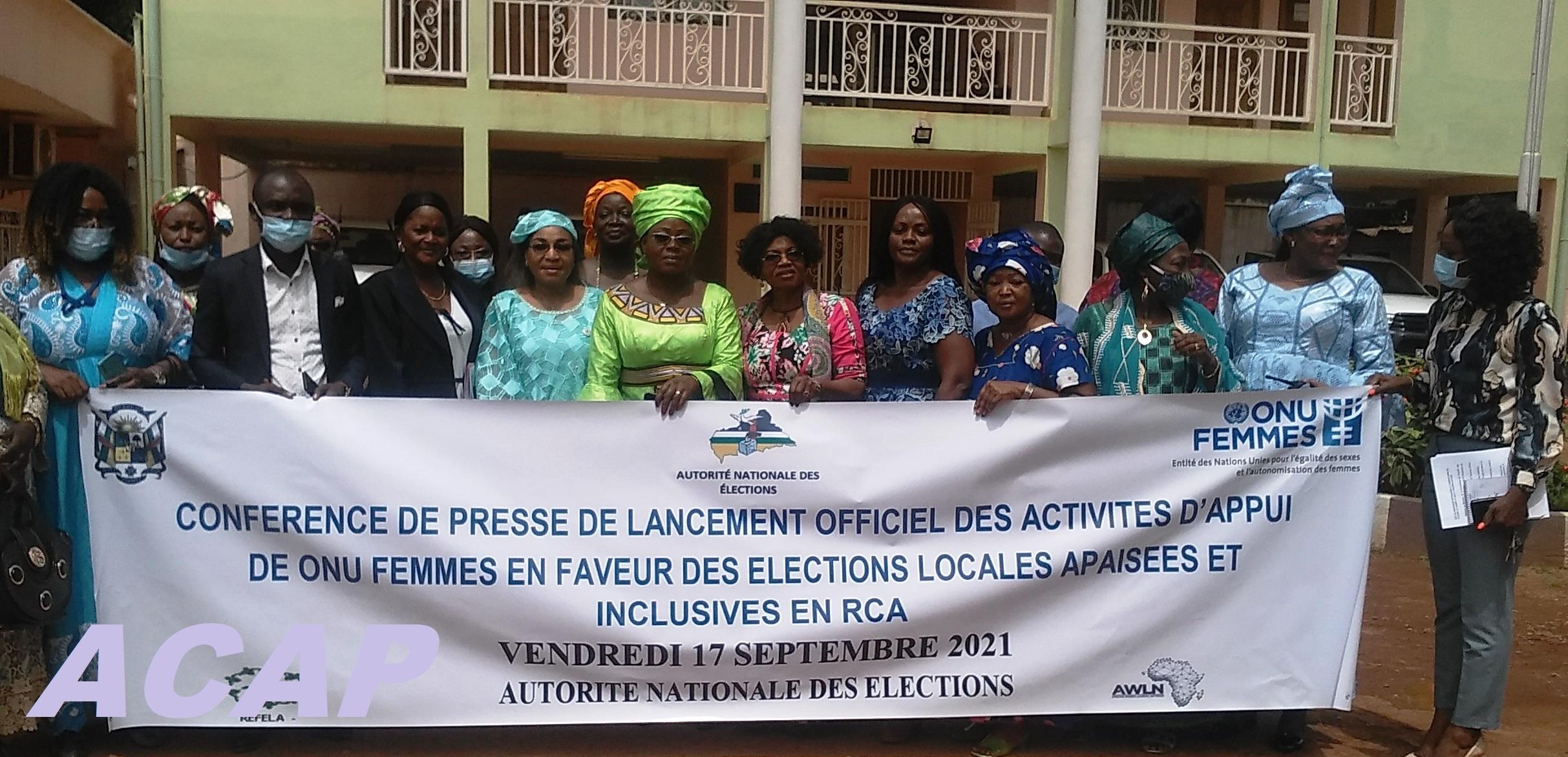 L'ONU femmes annonce son soutien aux femmes aux prochaines élections locales