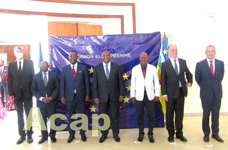 Célébration officielle du 1er anniversaire de la Mission du Conseil de l'Union Européenne en Centrafrique (EUAM-RCA)
