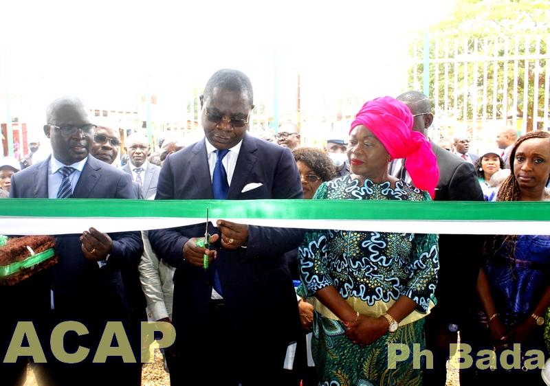 Inauguration de la nouvelle salle de conférence de la Caisse Nationale de Sécurité Sociale