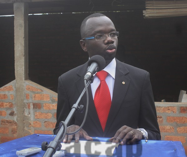Didier Martial Pabandji lance les travaux de réhabilitation de la Maison de la Presse et des Journalistes