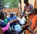 La ministre Virginie Mbaïkoua et le Directeur Afrique du HCR accueillent à Mongoumba les réfugiés centrafricains de Bétou