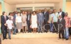 La Ministre de l'Environnement, Arlette Sombodibélé, restitue les travaux de la COP 22