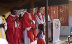 Le Nonce Apostolique au complexe pédiatrique de Bangui pour la messe de Noël