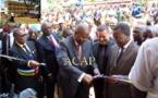 Le Président Faustin Archange Touadéra inaugure à Bangui des infrastructures scolaires construites sur financements de la BAD