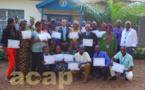 Clôture à Bangui de l'atelier de formation des membres des associations des personnes vivant avec le VIH