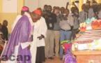 Célébration à Bangui de la messe de requiem pour l'Abbé Albert Tungumalé Baba et les autres victimes de l'attaque de Fatima